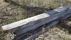 6 Ironbark Split Posts, unused Pine Mountain Ipswich City Preview