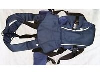 Mothercare Baby Carrier - Navy - For Baby Girl And Baby Boy