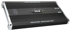 Lanzar MXA284 5000 Watt 2 Channel Bridgeable MOSFET Amplifier