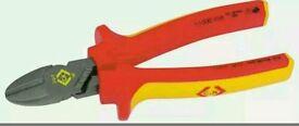 431017 C.K RedLine VDE Side Cutters 160mm