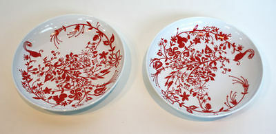 Set of 6 New in box Table Stories bird Soup Plate RED Tord Boontje Free Shipping