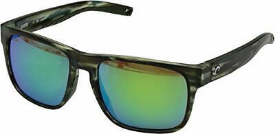 Costa Spearo Matte Reef Green Mirror Lens Unisex Sunglasses SPO253OGMP*Open Box