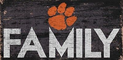 Tigers Sign - Clemson Tigers FAMILY Football Wood Sign - NEW 12
