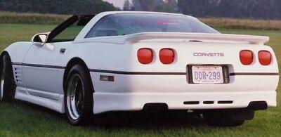 1984-1990 C4 Corvette Custom Fiberglass Rear Bumper ACI Fiberglass  Made in USA! ()