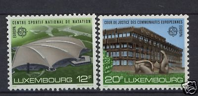 Luxembourg 1987 SG#1205-6 Europa Architecture MNH Set