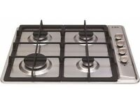 CDA HG6120SS 4 Burner Gas Hob (brand new)