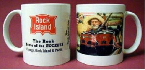ROCK ISLAND RAILROAD COFFEE MUG / cup / gifts / trains