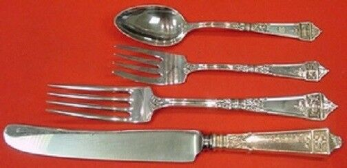 Lansdowne By Gorham Sterling Silver Regular Size Place Setting s 4pc