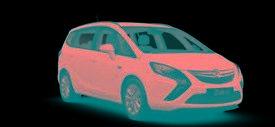 2016 Vauxhall Zafira Tourer 1.4T Design 5 door Petrol Estate