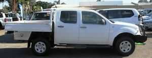 2007 Nissan Navara D40 RX White 6 Speed Manual Utility Bellevue Swan Area Preview