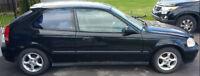 1999 Honda Civic Hatchback + demarreur distance
