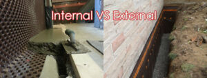 Affordable Basement Specialists. Interior, Exterior, lowerings.