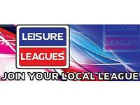 BRAND NEW 5-A-SIDE LEAGUES OPENING!