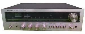 Vintage Onkyo Y8000 Stereo Receiver / Amplifier Wareemba Canada Bay Area Preview