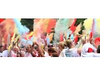 Bury St Edmunds Colour Dash for EACH