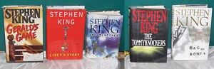 Lot of 3 Stephen King Hardcover Books