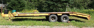 22ft Craig Tilt Deck & '77 GMC Single Axel Dump Truck