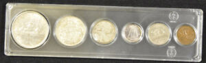 1937 Canada Yearly Coin Set
