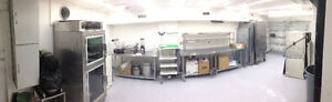 Commercial kitchen space for long-term lease or part-time hourly
