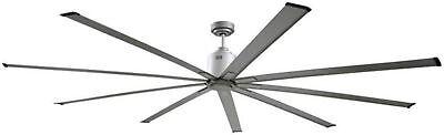 """Ventamatic ICF96 Big Air 96"""" Industrial Ceiling Fan, 9 Blades 6 Speed Reversible"""