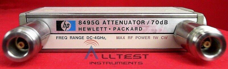 Agilent - Keysight 8495G Programmable Variable Step Attenuator