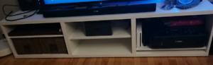 Meuble TV blanc Besta Ikea