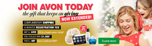 LAST CHANCE - FREE TO JOIN - AVON REPS NEEDED Stratford Kitchener Area image 1