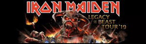 ✯✯ Iron Maiden✯✯ Rogers Arena TUES SEPT 3 7:30PM
