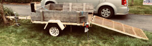 Heavy duty utility trailer NEEDS TO GO - TRY YOUR OFFER!