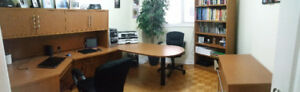 Beautiful - 8 Piece Executive Office Set with Chairs!!!