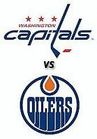 2 or 4 Seats - Oilers vs Capitals - Fri Oct 23rd