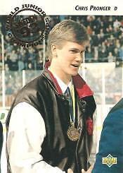 1992-93 UPPER DECK .... HIGH # complete set ... 200 hockey cards