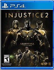 Injustice 2 legendary edition pour ps4