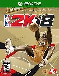 NBA 2K18 Legend Edition Gold - Xbox One -BNIB NEW $180