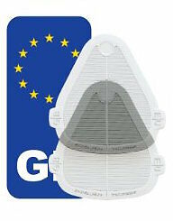 Universal Headlamp Beam Deflectors Head Light Convertors+GB Sticker