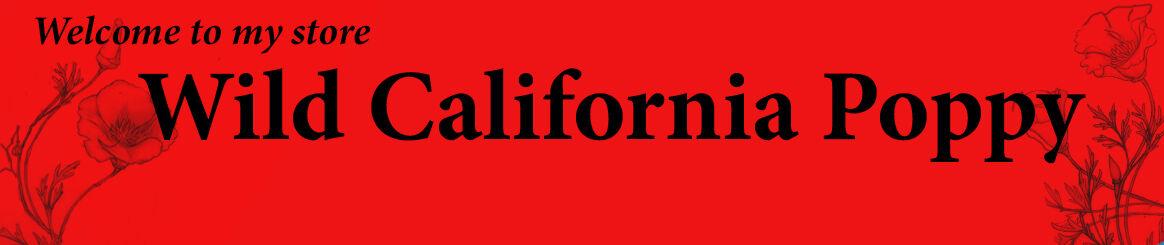 Wild California Poppy