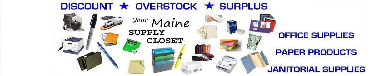 Your Maine Supply Closet