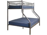 Triple sleeper, bunk bed, signle top, double bottom