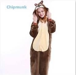 Chipmunk adult onesies