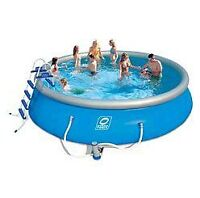 outdoor pool, piscine exterieur gonflable (hydro force)