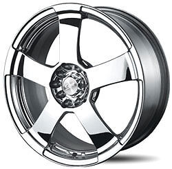 17-Inch-New-BSA-324-Chrome-Wheels-Rims-Mags-4-Stud-FWD-Cars