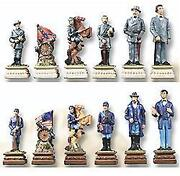 Civil War Chess Pieces