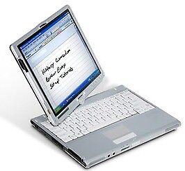 12.1'' FUJITSU T4220 Digitizer Laptop+Tablet: *Intel Core2Duo 2.20GHz*2GB*100GB*Win10*Office2016Pro+