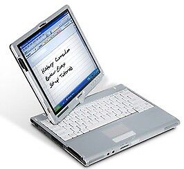 12.1'' FUJITSU T4220 Digitizer Laptop+Tablet: *Intel Core2Duo 2.20GHz*Windows7*Office2016Pro+