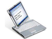 12.1'' FUJITSU T4220 Digitizer Laptop+Tablet: *Intel Core2Duo 2.20GHz*Windows7*Office2016Pro+