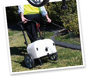 #222892 Rapid Spray Master Gardener Trolley Sprayer Caboolture South Caboolture Area Preview