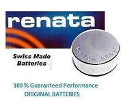 Renata 317 Battery