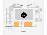 Take That Concert Tickets Carrow Road Friday 16th June (general admission / standing)