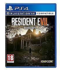 Resident evil biohazard ps4