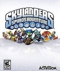 Wii U Skylanders with case and 18 characters